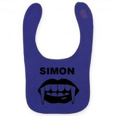 Personalised Halloween Dracula Bib